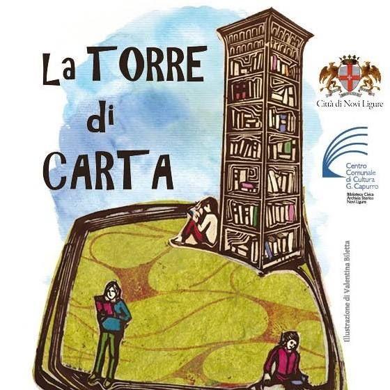 "NOVI LIGURE – Riprende a settembre la manifestazione culturale ""La Torre di  Carta"" 9fa8d84a0811"