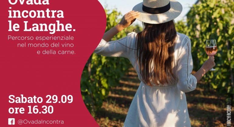 """""""Ovada incontra le Langhe"""", una giornata tra vino, cibo e musica"""
