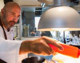 Andrea Ribaldone chef alla Tavola Amica della Caritas