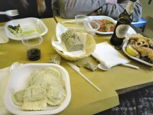 Genova locali dove mangiare tipico spendendo poco - trattoria da Zimino