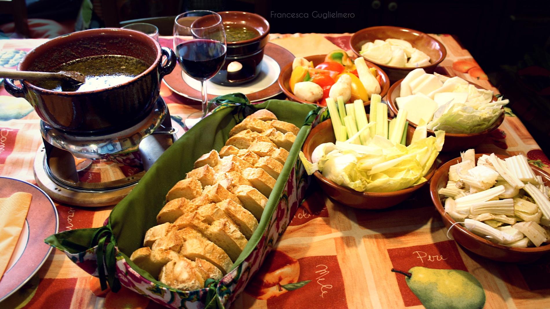 Bagna cauda ricetta tradizionale origine e storia