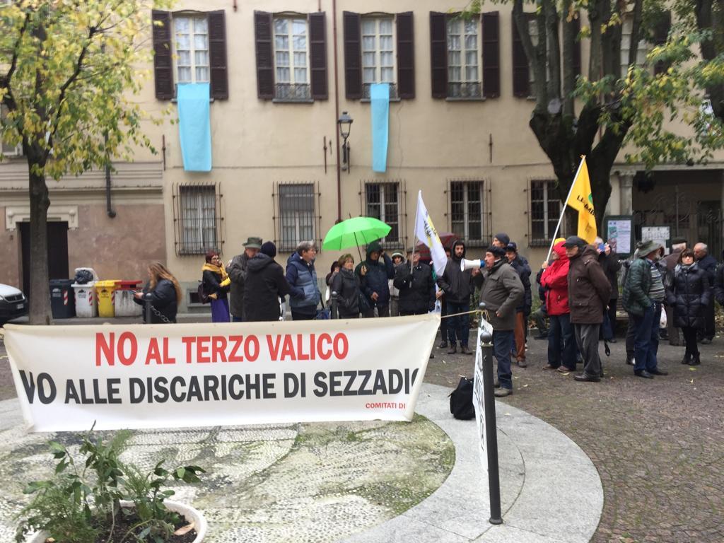 Ministro Costa ad Acqui Terme - presidio
