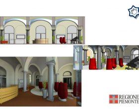 futuro ingresso ospedale Alessandria atrio