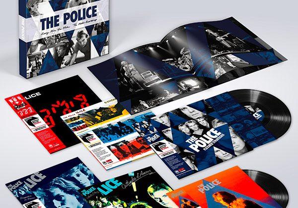 The Police: un cofanetto con sei dischi e un album di rarità inedite
