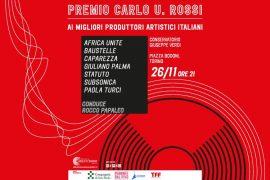 Il Premio Carlo U. Rossi si presenta con Caparezza Subsonica e Baustelle