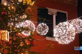 B&B Arcobaleno via Verona Alessandria luci Natale