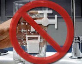 Acqua non potabile a Pecetto di Valenza