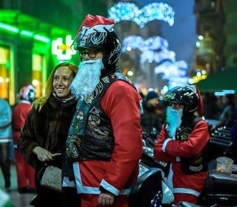 Babbo Natale in Harley foto di Vittorio Destro