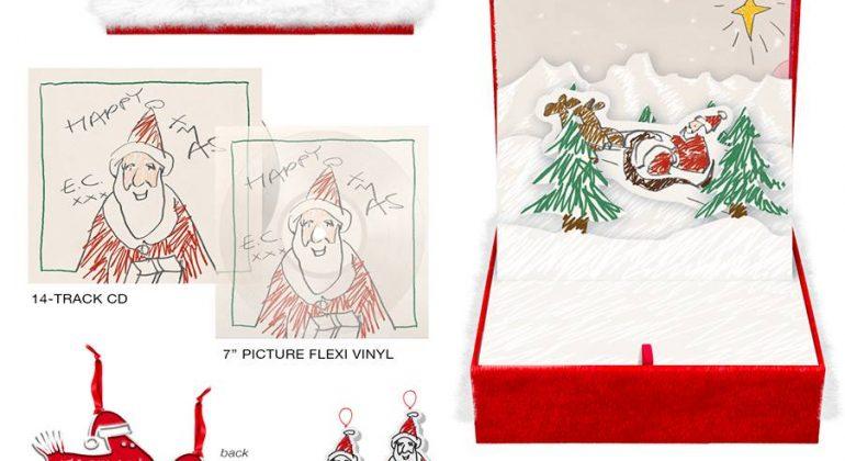 Esce in edizione speciale il primo disco di Natale di Eric Clapton