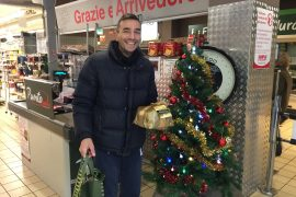 Diego Gavazzi spesa donata