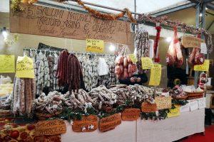 Mercatino di San Nicola a Genova - cibo