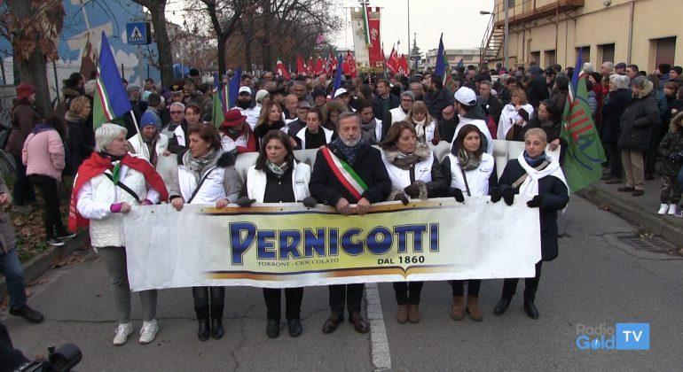 Pernigotti corteo dell'1 dicembre 2018