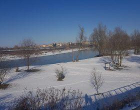 Neve sul Po - Foto di Francesco