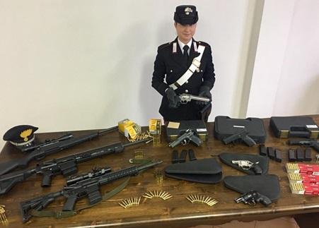Sequestro armi a Casale