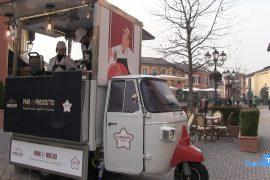 All'Outlet di Serravalle si fa merenda con il prosciutto cotto Sabbione