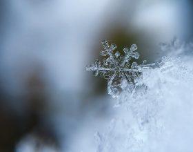 Fiocco di neve - Photo by Aaron Burden on Unsplash