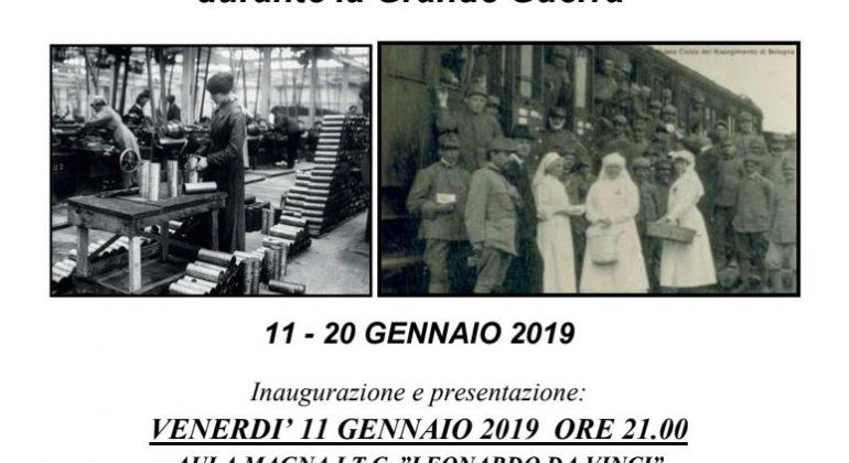 Mostra sul ruolo delle donne nella Grande Guerra