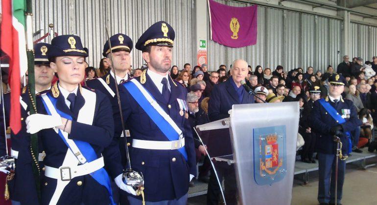 Scuola di Polizia Giuramento Franco Gabrielli