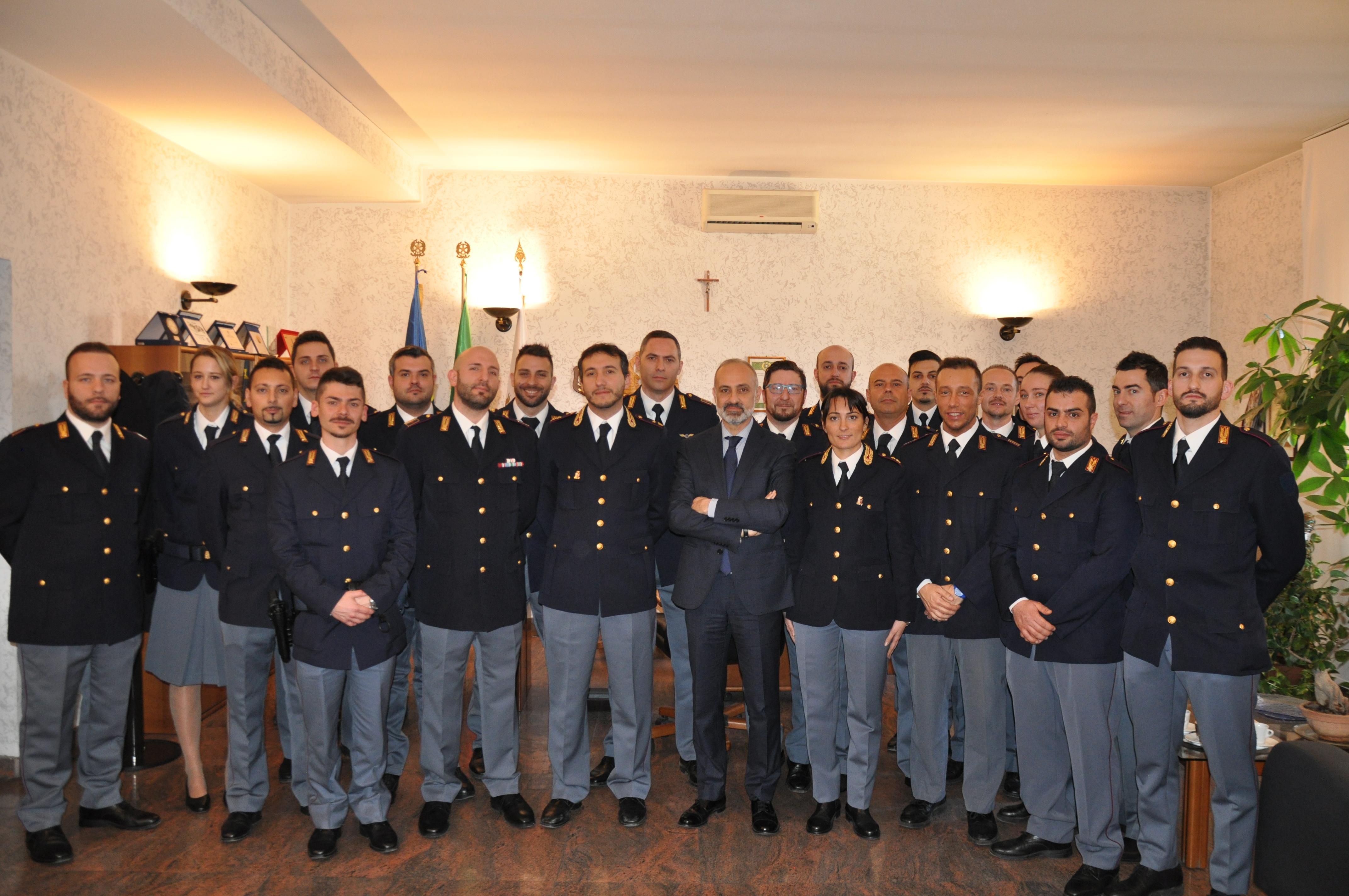 Nuovi poliziotti Alessandria