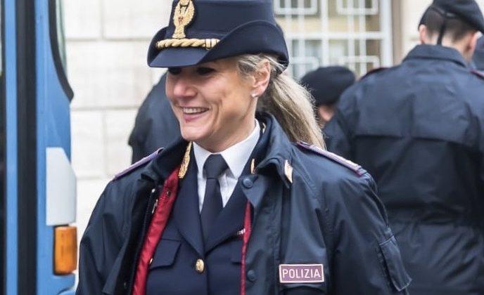 Deborha Montenero Polizia Stradale Alessandria