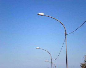 Ripristinata l'illuminazione del cavalcavia di Spinetta per Tortona
