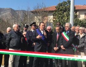 Inaugurazione ponte Albera Ligure 23 marzo 2019