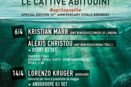 La rassegna Le Cattive Abitudini presenta Kristian Marr e Lorenzo Kruger