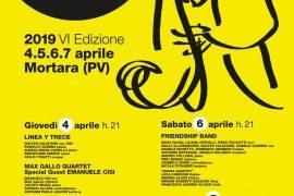 Jazz Festival Città di Mortara: dal 4 al 7 aprile la sesta edizione