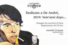 Dedicato A De André – 2019 Vent'anni dopo