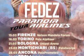 Fedez – il 15 marzo parte il nuovo Paranoia Airlines tour