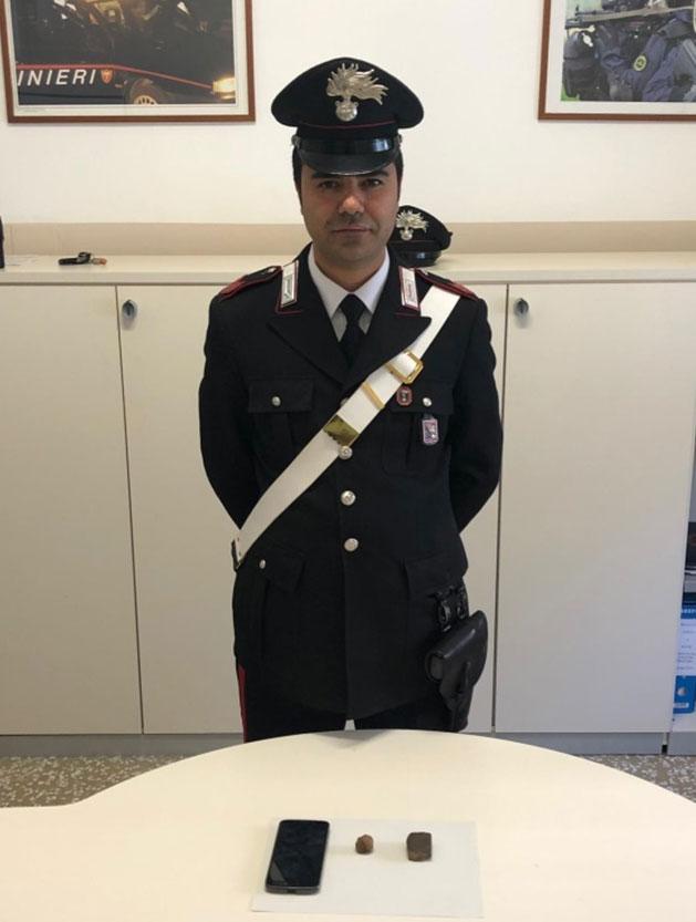 Carabinieri hashish