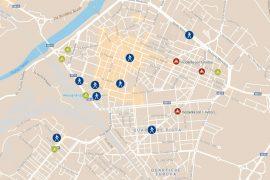 Mappa incidenti degli utenti deboli dal 2019 02 19 al 2019 03 19