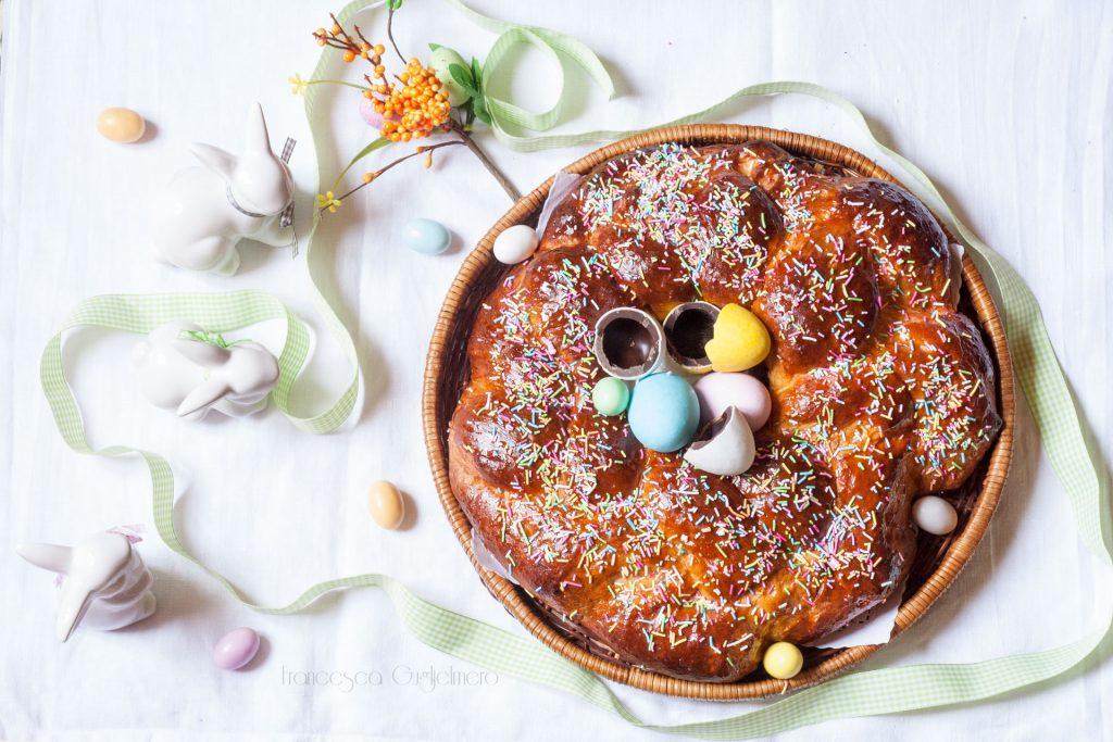 5 ricette per un menù di Pasqua originale - Corona pasquale