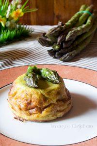 5 ricette per un menù di Pasqua originale - flan di asparagi