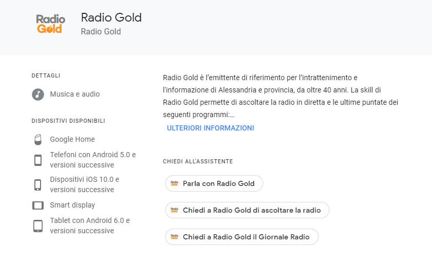 Google Radio Gold