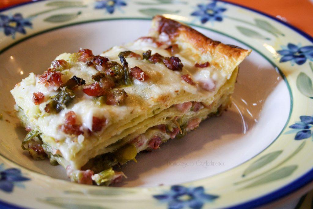 5 ricette per un menù di Pasqua originale - Lasagne speck e asparagi