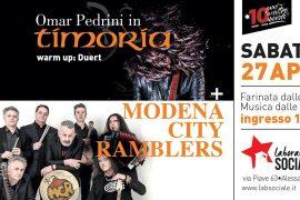 I Modena City Ramblers e Omar Pedrini insieme ad Alessandria