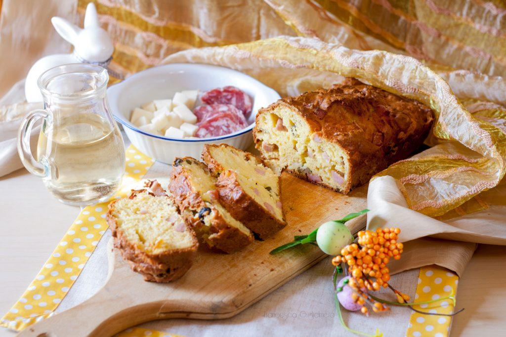 5 ricette per un menù di Pasqua originale - Plumcake salato
