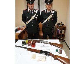 Carabinieri armi Bistagno