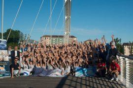 Selfie sul Meier Alessandria Volley