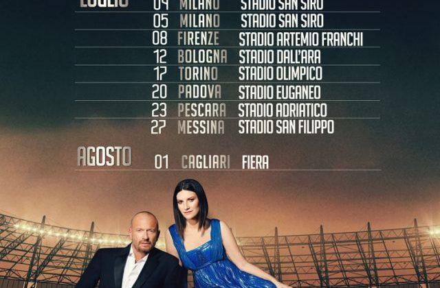 Laura Biagio Stadi 2019 al via il 26 giugno il tour in 10 stadi