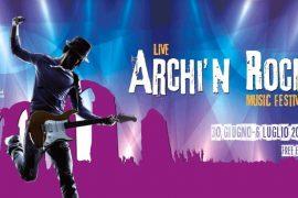 Archi'n Rock 2019; sette giorni di musica agli archi romani di Acqui Terme