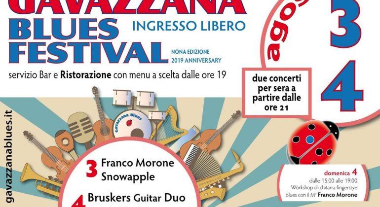Il 3 e 4 agosto torna il Gavazzana Blues festival