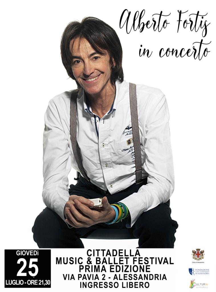 Locandina Alberto Fortis in concerto_Alessandria_25-07-2019