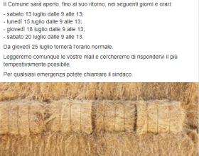 Carrega Ligure post facebook