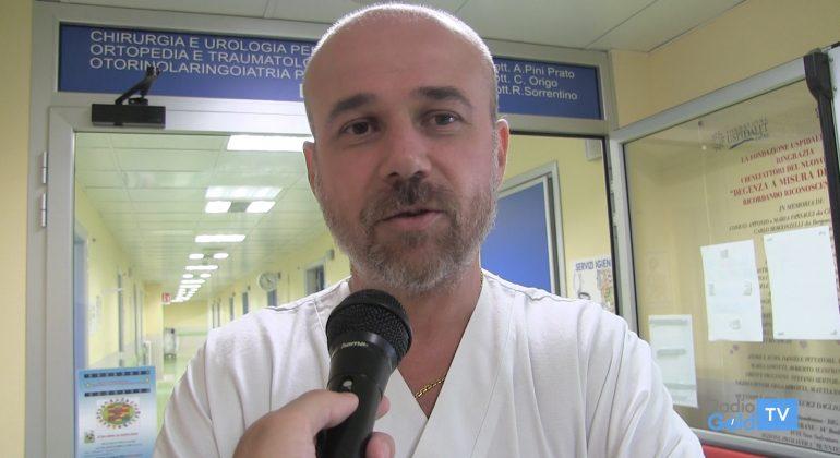 Immagine Ospedale Infantile: il dottor Pini Prato torna ad Alessandria