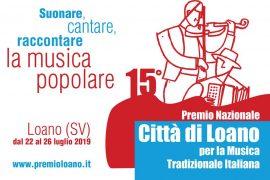 """Premio Città di Loano 2019: """"Da Pasolini al liscio"""""""