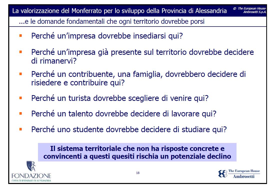 Fondazione Ambrosetti: perché le aziende devono investire su un territorio