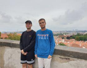 Francesco e Alessandro a Praga