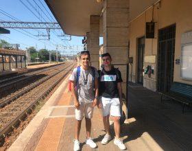 Francesco e Alessandro Interrail